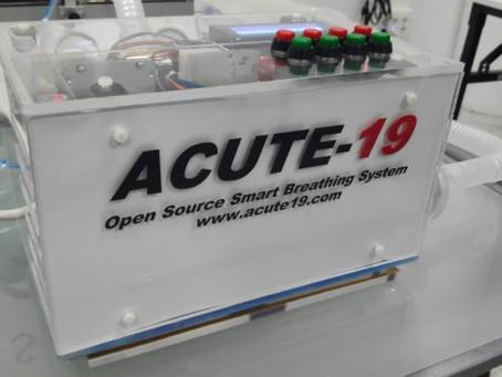 International High Flow Network apoya el proyecto ACUTE-19