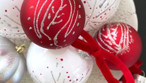 DIY Nordic Christmas Ornaments