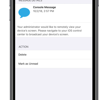 Troubleshoot iOS Devices with Advanced Remote View