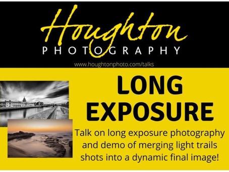 Long Exposure, a talk by Joe Houghton 10th September 07:30pm