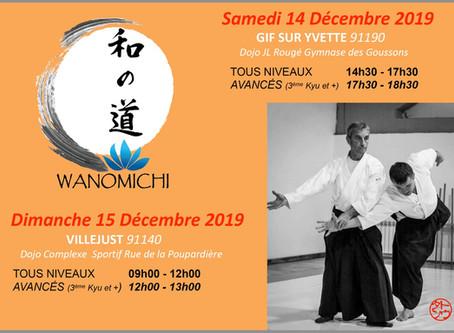 Stage avec Daniel Toutain les 14 et 15 Décembre 2019