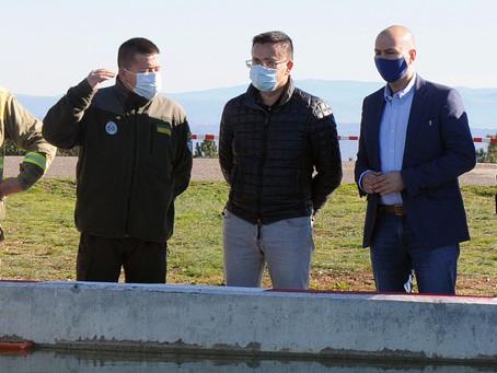 15M€para mejoras del Servicio de Prevención y crar un Centro de lucha contra el Fuego en Ourense