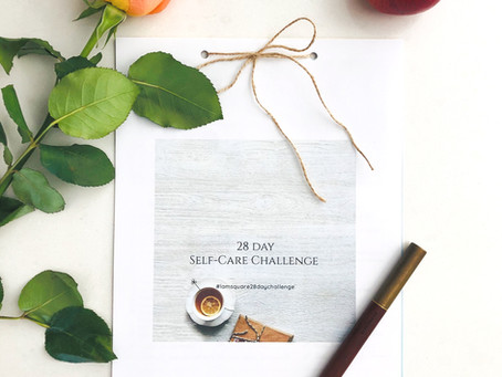 #lamsquare28daychallenge Self-Care reflection