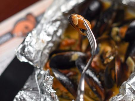 Мидии голубые в сливочном соусе, по уникальной цене 230 руб. до 14 декабря.