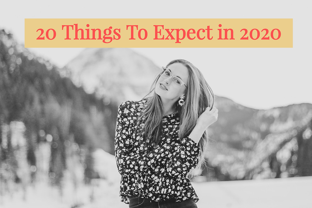 20 things in 2020 life by kimberly anne