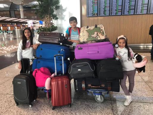 A chegada da família Ferreira ao Brasil