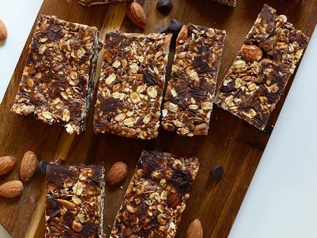 CHOCLATE CHIP ALMOND BUTTER GRANOLA BAR | #Recipe 16 | Healthy Food lifestyle | #Teamspba
