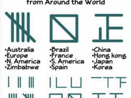 Tally Marks from Around the World
