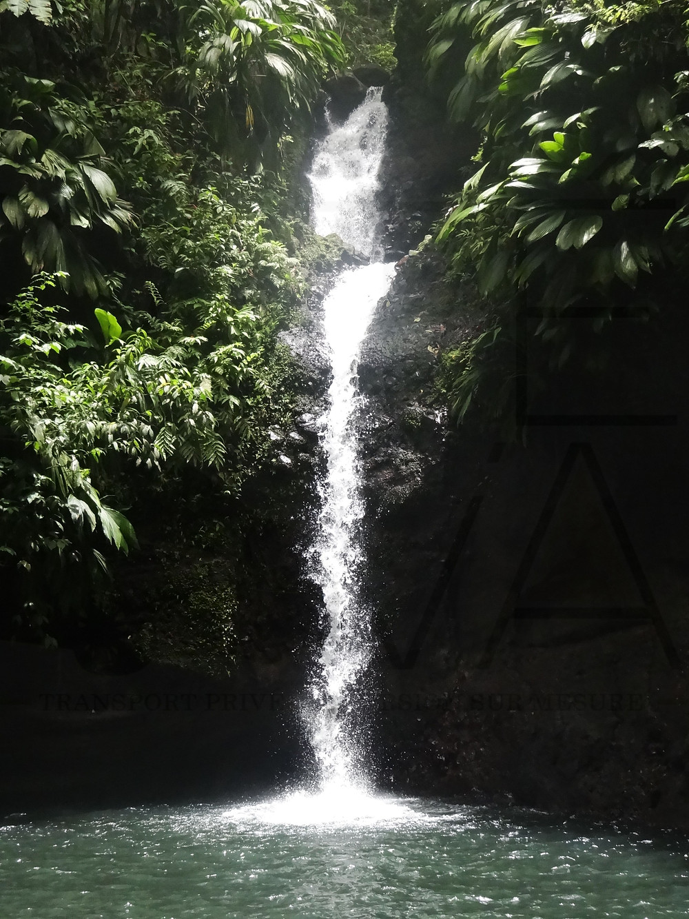Cascade tambour par diane guadeloupe sentier randonnée de la cascade tambour