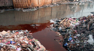 River Dye is Known to Pollute Rivers in China and Southeast Asia (Image courtesy of RiverBlue)
