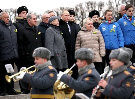 Волонтёры Победы. Санкт-Петербург