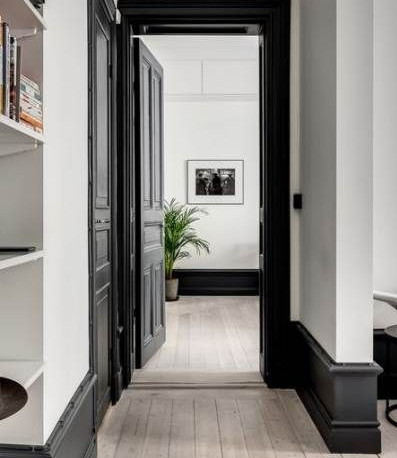 The Rise in Bold Skirting Boards