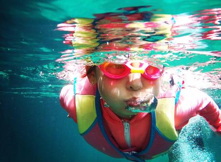 Prepare for your first swim lesson