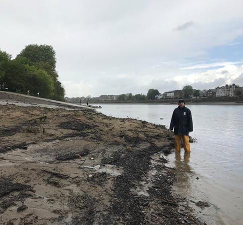 MICROPLASTIC POLLUTION AND WET WIPE 'REEFS' IN THE THAMES