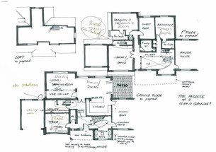 The Paddock Floor Plans as Proposed