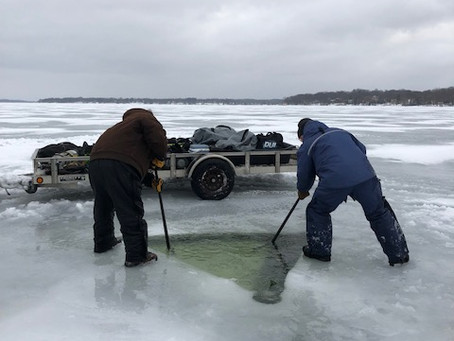 2 24 2019 Scuba Ice Dive Pewaukee - To Die for Chicken