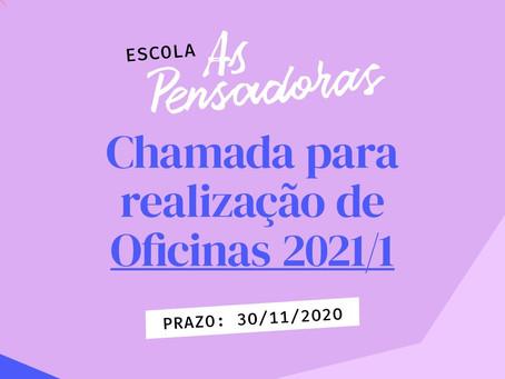 Chamada para realização de Oficinas 2021
