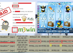 Penguin Vacation slot game tips to win RM6000 in Rollex