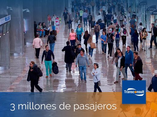 ASA cierra 2018 con incremento de 11.7% en la movilización de pasajeros