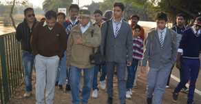 CREW pioneered the Bird Watching activity in Bhopal