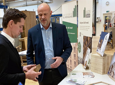 Danish Minister visits Build-in-Wood Headquarters