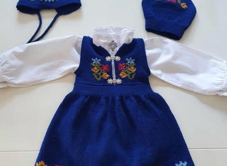 Little Girl's Norwegian Party Dress