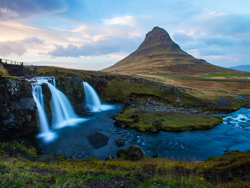 La montagne Kirkjufell en Islande