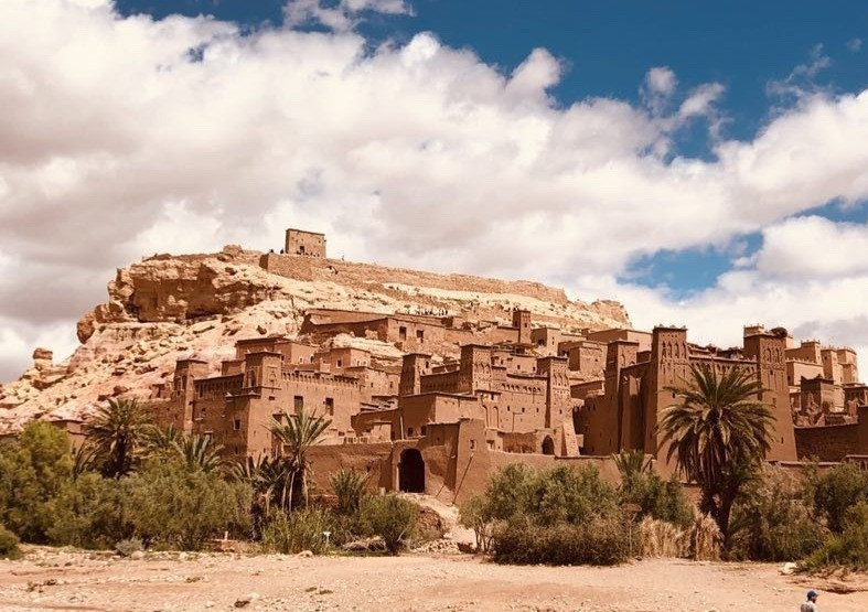 Morocco Kasbah Ait Benhaddou - UNESCO site