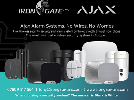 Super deals on the Ajax Security System!