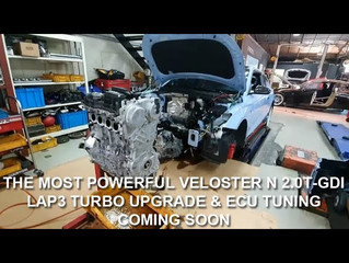 Veloster N 2.0T-GDI Turbo Upgrade Build