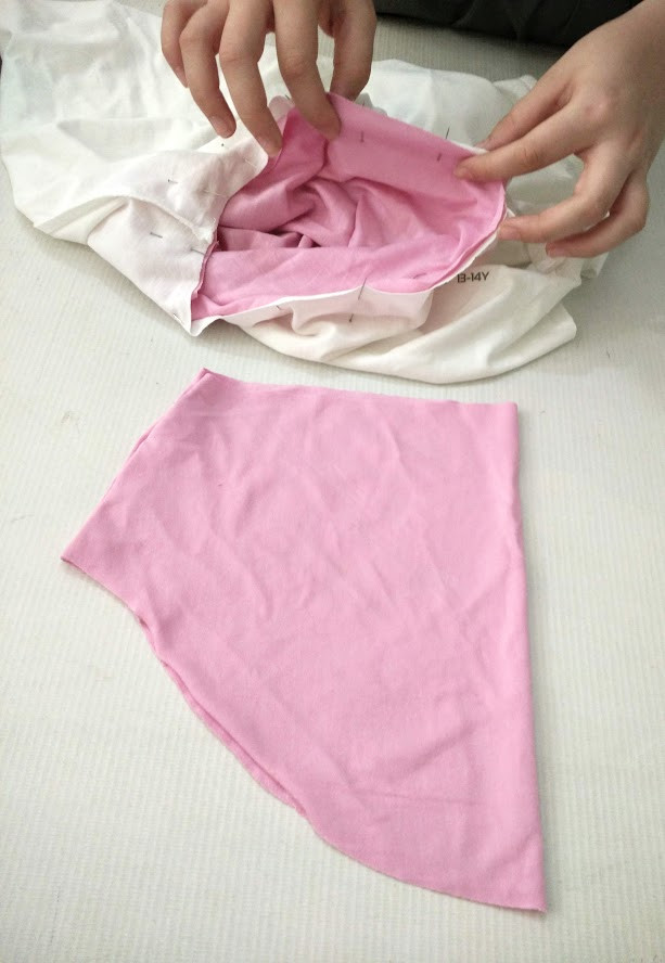 2 pink sleeves
