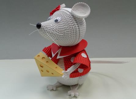 Символ 2020 года. Очаровательная мышка.