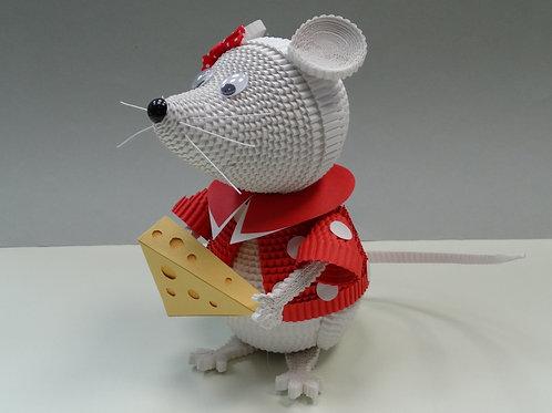 """Набор """"Очаровательная мышка с сыром"""""""