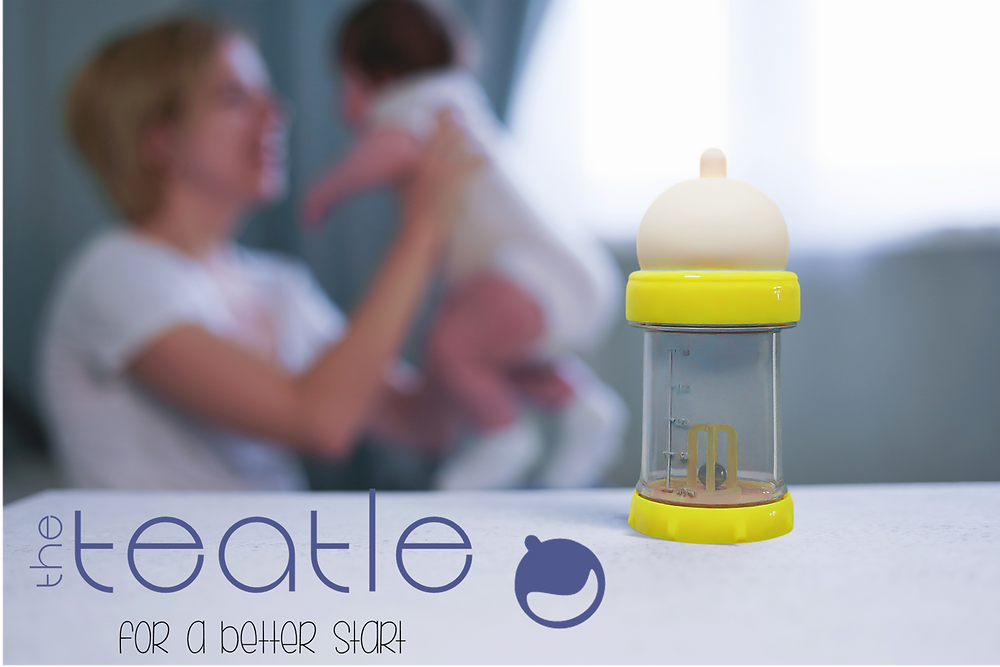 Mother and baby with the Teatle