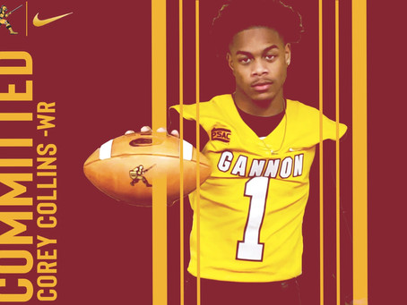 Corey Collins commits to Gannon University!