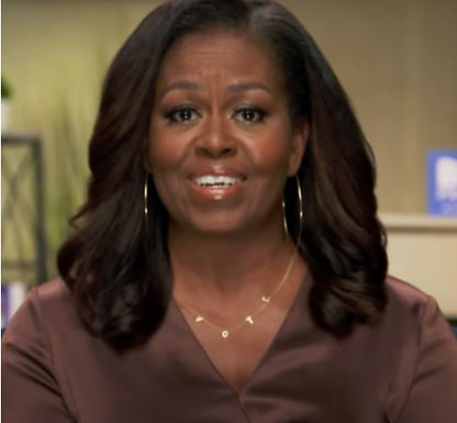 Michelle Obama's necklace is going viral