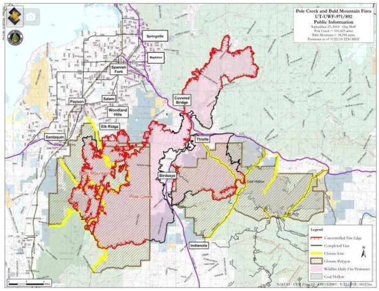 Evacuation and Road Closures