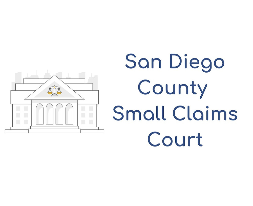 How to file a small claims lawsuit in San Diego County Small Claims Court