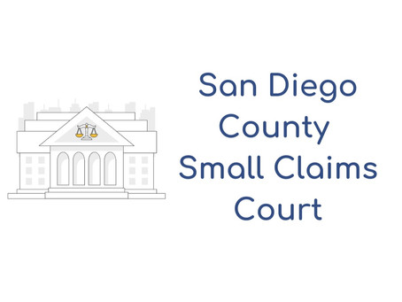 San Diego County Small Claims