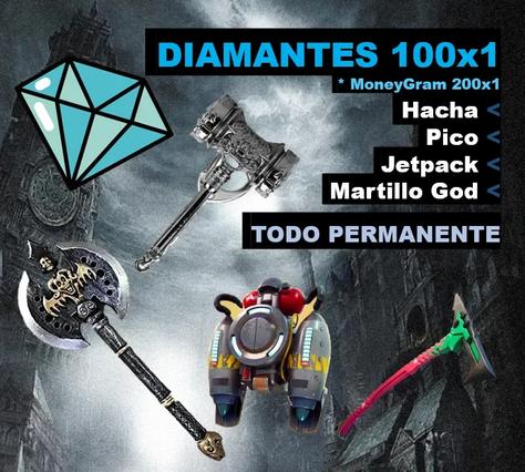 Promocion 100x1 en diamantes