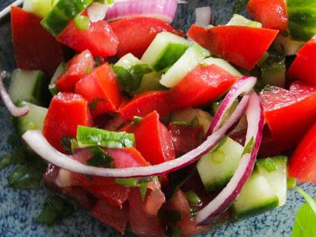 Tomatensalat - türkische Art