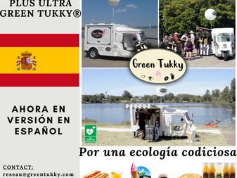 """""""Plus Ultra"""", GREEN TUKKY® arrive en Espagnol..."""