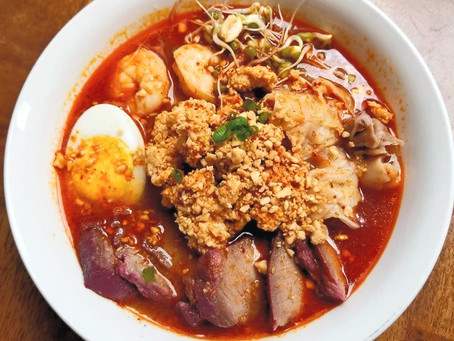 How to Make Tomyum Noodle Soup