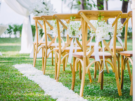 What You Need for a Backyard Wedding
