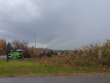 Exclusive: Severe Thunderstorms Trigger Tornado Warnings in Central Ontario