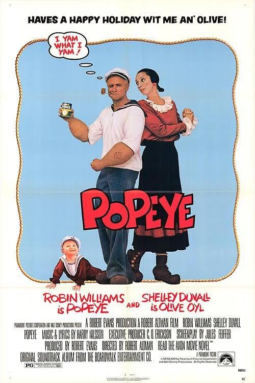 Popeye the sailor man film poster