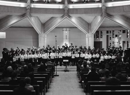 Un concert fantastique : quatre chœurs et une création !