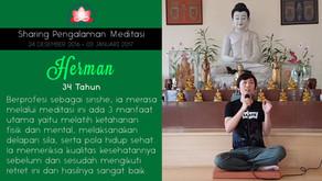 Sinshe yang meneliti manfaat Meditasi - Sharing oleh HERMAN