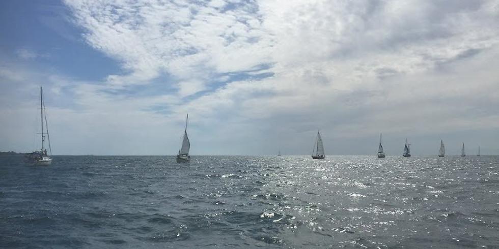 Long Point Bay Yacht Club Sailpast 2020
