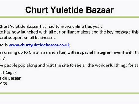 Churt Yuletide 'Online' Bazaar 2020
